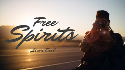 Sample slide - Free Spirits, Liron Erel